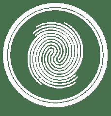 Thumbprint White Crop