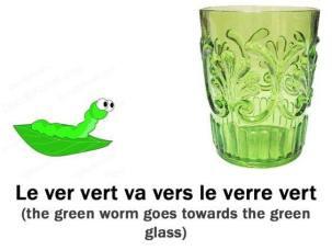le ver vert